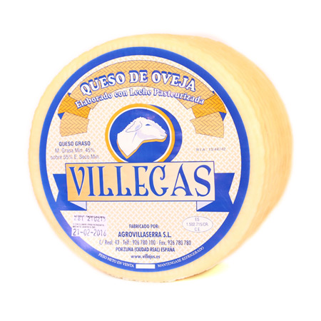 Villajos manchego tender cheese
