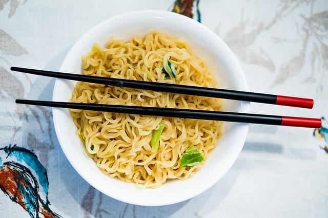 Curiosidades a la hora de comer, Comida china