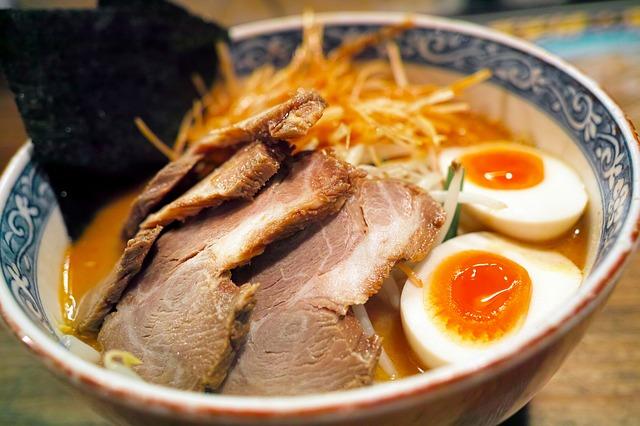 Curiosidades a la hora de comer, Comida japonesa