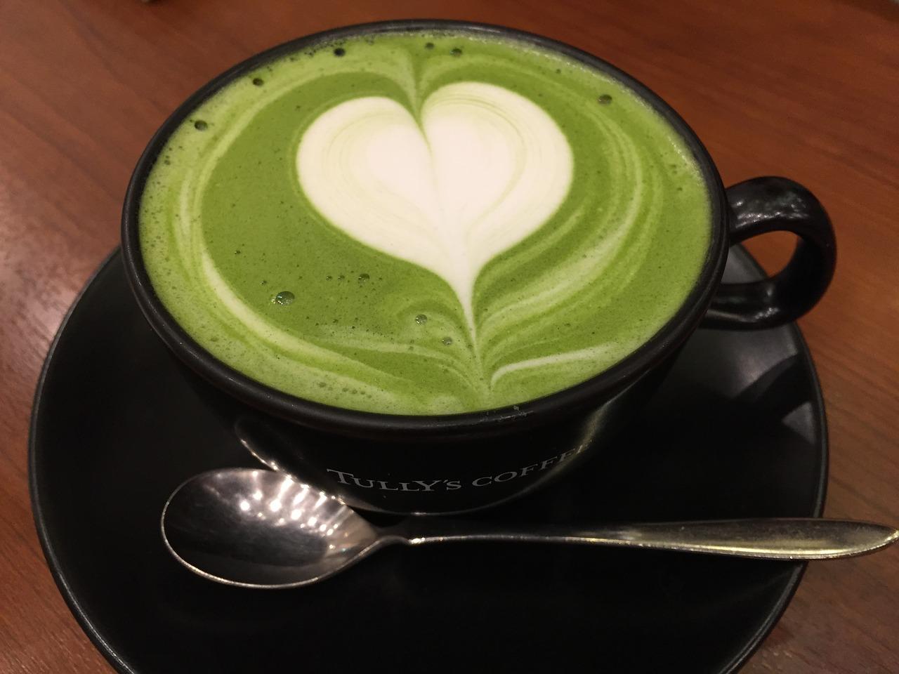 Superalimentos-Té matcha, Té verde